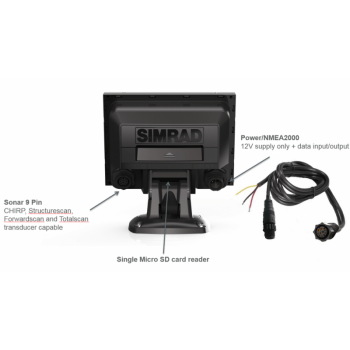 SIMRAD GO5 XSE with Active Imaging 3-in-1 000-14837-001