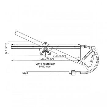 Ultraflex sajla mehanickog upravljackog sistema TM86
