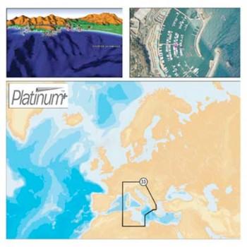 Navionics CF Platinum + Charts 33P kartografija
