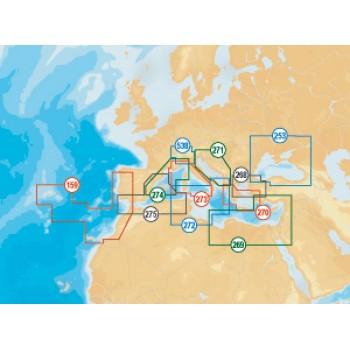 Navionics Compact Flash Platinum+ XL kartografija