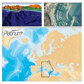 Navionics SD/Micro SD Platinum + Charts 33P kartografija