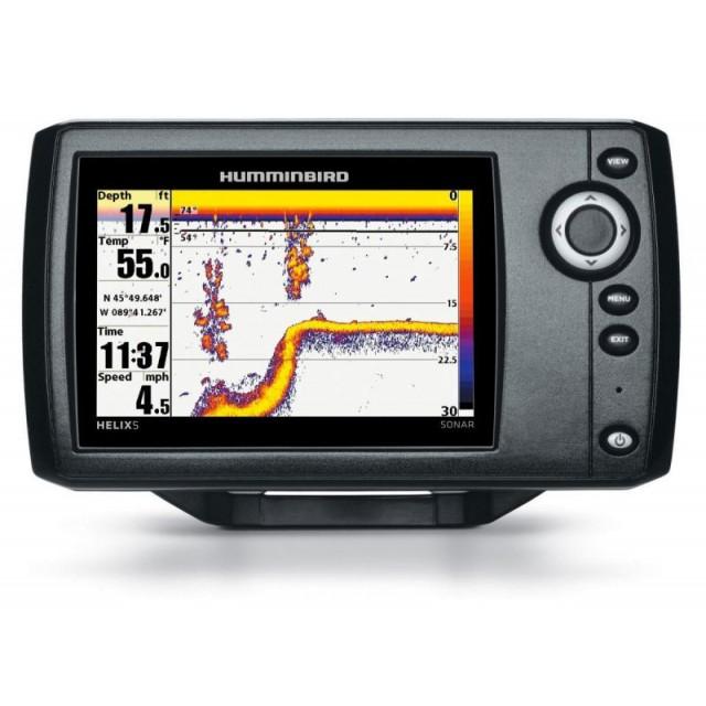Nautička Navigacija Humminbird Helix 5 Sonar Dual Beam Plus TFT LED 256 colors