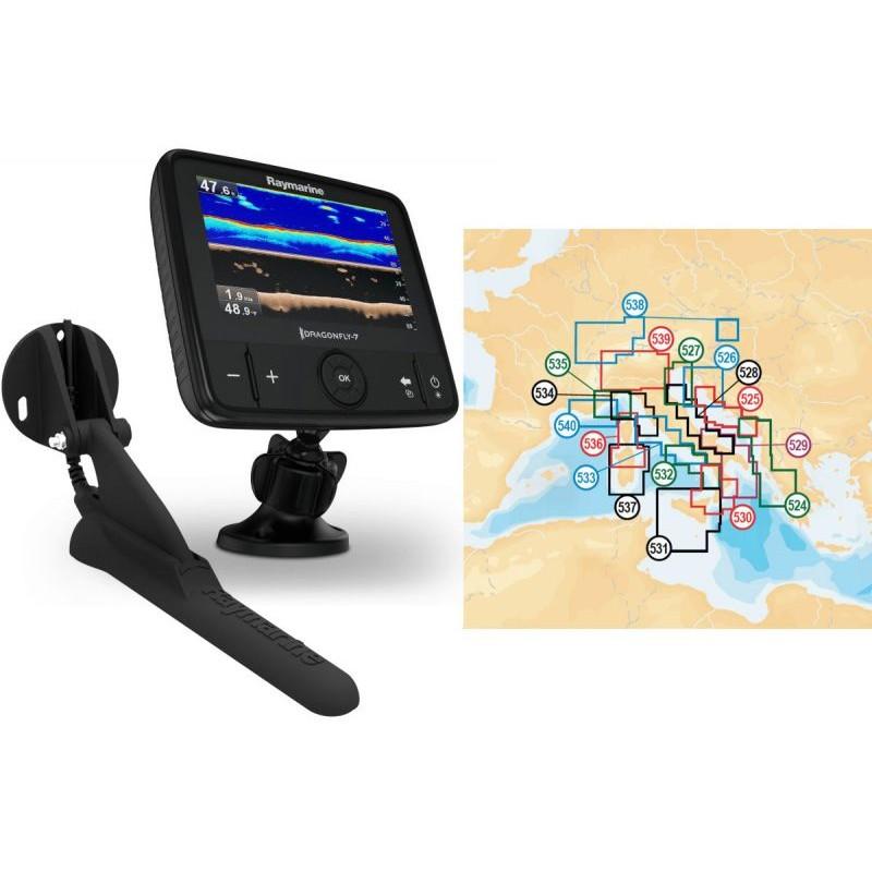"Nautička Navigacija Raymarine Dragonfly 7PRO Display 7"" sa Navionics Gold  Small 2 Kartografijom"