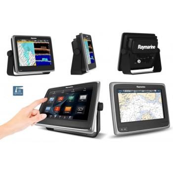 "Nautička Navigacija Raymarine Multifunction Display 9"" a97 Wi-Fi Touch sa Fishfinder E70233"