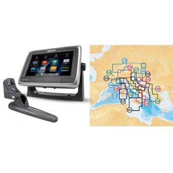 """Nautička Navigacija Raymarine A68 Wi-Fi 5.7"""" MFD sa Navionics Gold Small 2 Kartografijom"""