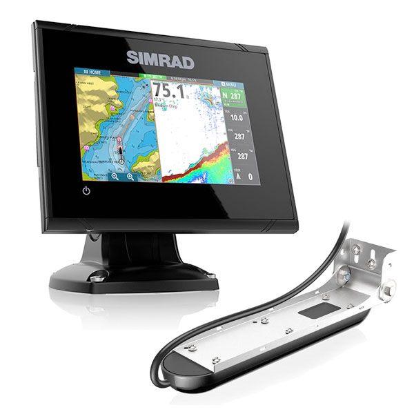 Nautička Navigacija Simrad Echo/GPS multi-touch GO-5 XSE sa Sondom Totalscan 000-14450-001