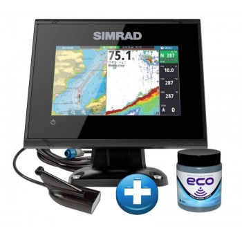 Simrad Echo - GPS GO9 XSE sa Downscan Sondom + BESPLATNO Marlin Eco Antifouling