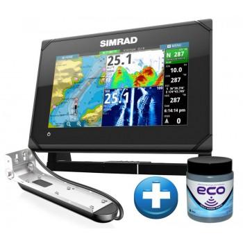 Simrad Echo/GPS GO-7 XSE sa TotalScan Sondom + BESPLATNO Marlin Eco Antifouling