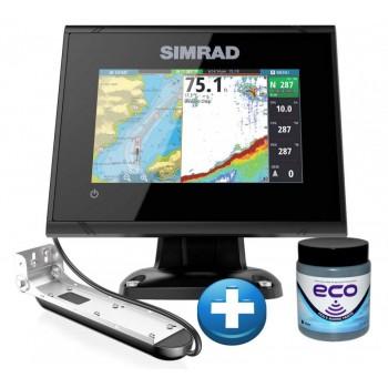 Simrad Echo/GPS GO9 XSE sa Totalscan Sondom + BESPLATNO Marlin Eco Antifouling