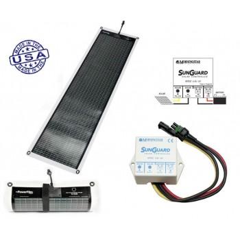 PowerFilm Rolo Fotonaponski Solarni Panel 14W/12V + Regulator punjenja
