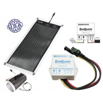 PowerFilm Rolo Fotonaponski Solarni Panel 7W/12V + Regulator punjenja